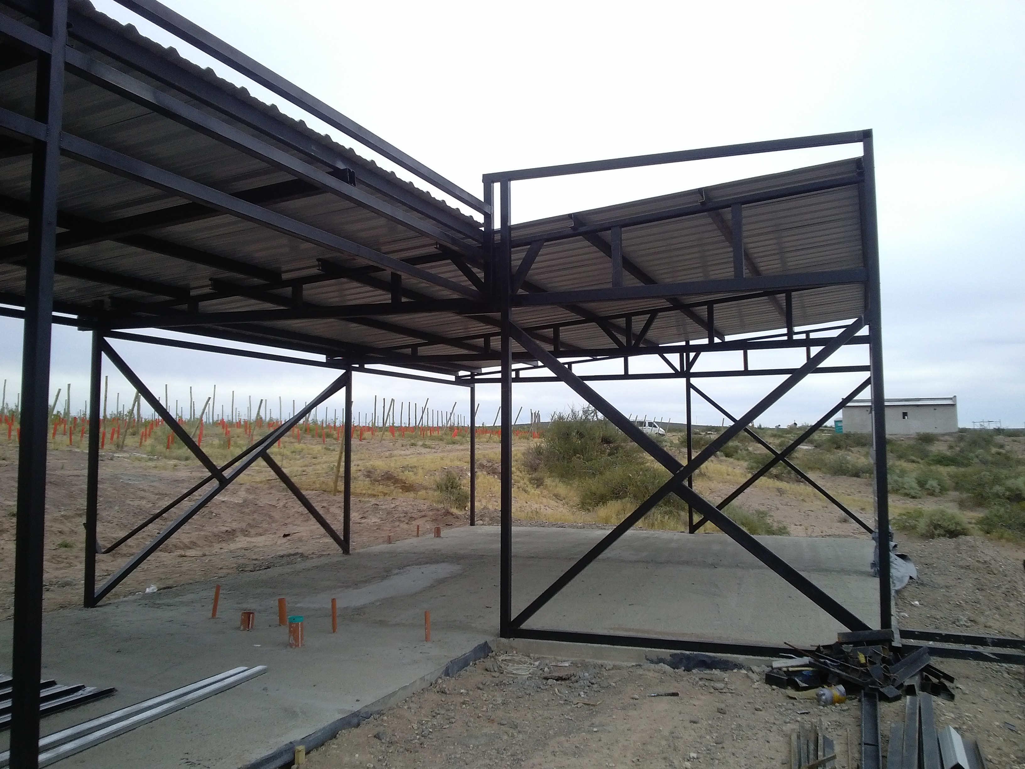 Construcci n en seco foro ver tema casas con hierro - Estructuras de acero para casas ...
