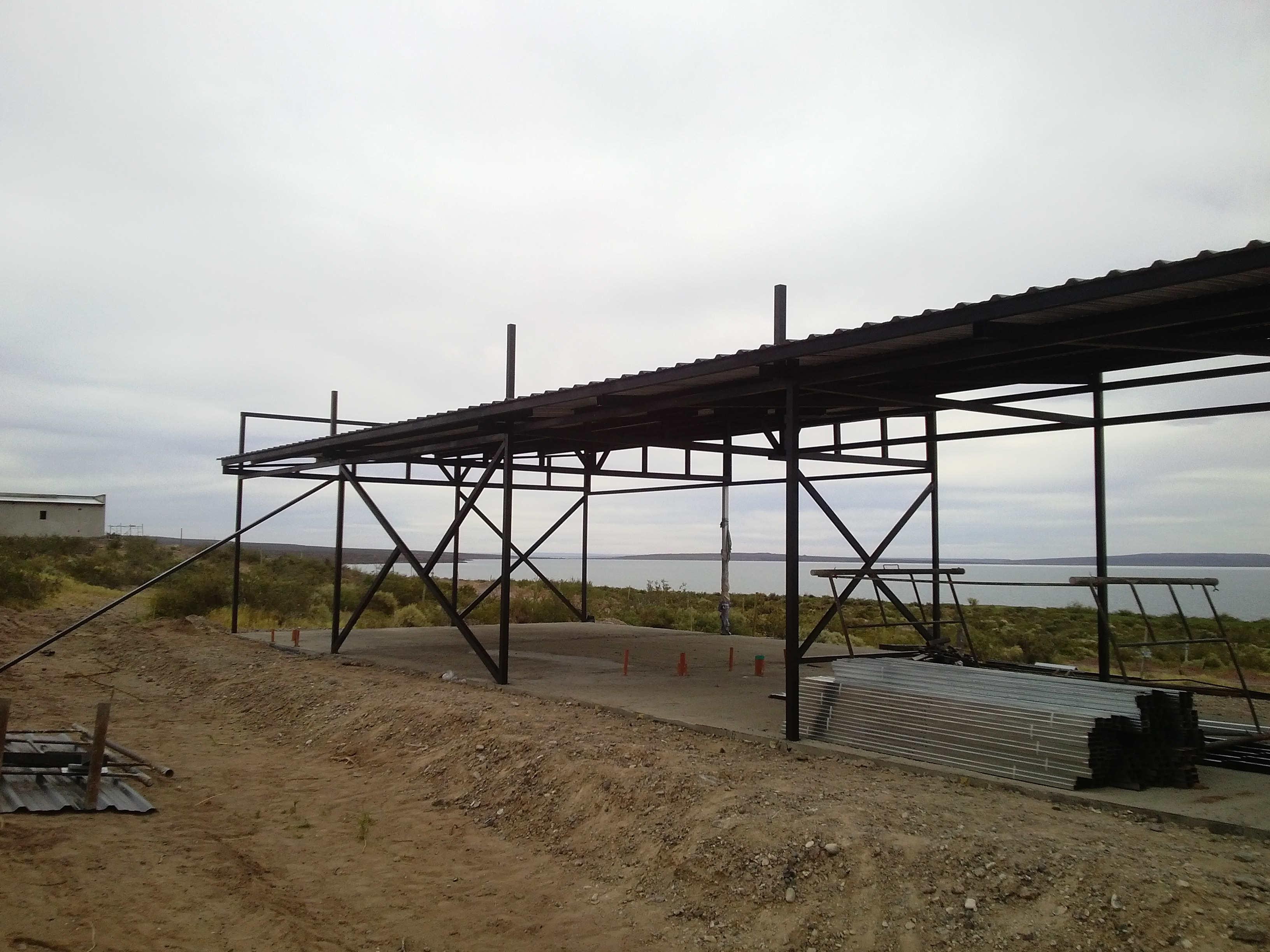 Estructura de hierro para casas great construccin de for Estructuras de hierro para casas